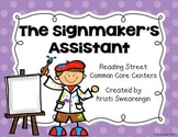 Reading Street Common Core The Signmaker's Assistant Centers Unit 5 Week 5
