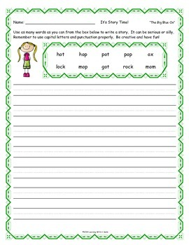 Reading Street FIRST GRADE Colorful Fill-Ins Unit 1 Spelling