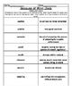 Reading Street Common Core Vocabulary Unit 1