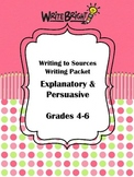 Gr 4-6 Reading Street Common Core Writing to Sources Expla