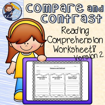 Reading Street Compare and Contrast Worksheet 2