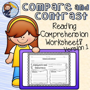 Reading Street Compare and Contrast Sheet