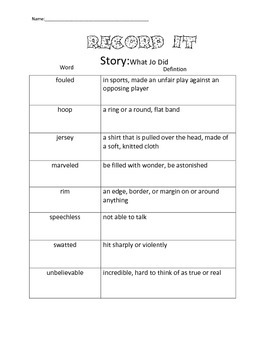 4th Grade Reading Street Unit 2 Complete Guided Reading Packet