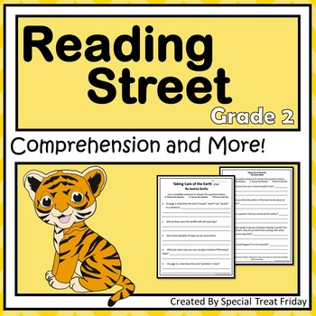 Reading Street Comprehension Questions 2nd Grade