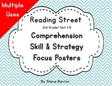 Reading Street Comprehension Skills and Strategies Posters