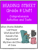 Reading Street Comprehension Unit 1 Grade 3