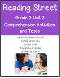 Reading Street Comprehension Unit 3 Grade 3