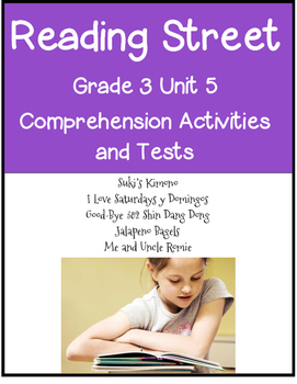 Reading Street Comprehension Unit 5 Grade 3