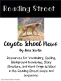 Reading Street Coyote School News