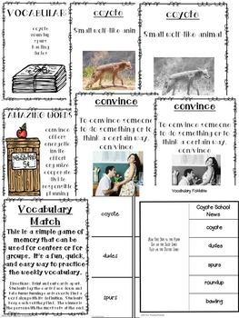 Reading Street Coyote School News