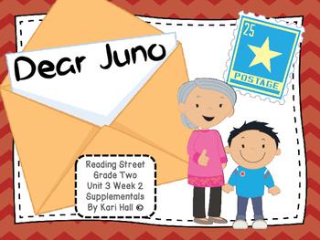Reading Street Dear Juno Unit 3 Week 2 Differentiated 2nd grade