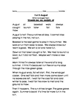 Reading Street Decodable Grade 2 Unit 5 Week 5 Signmaker's Assistant