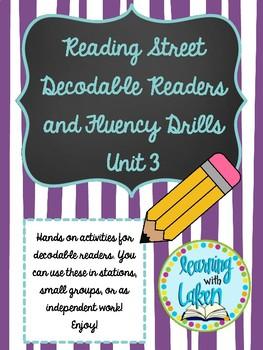 Reading Street Decodable Readers Unit 3: Phonics Pattern Passages