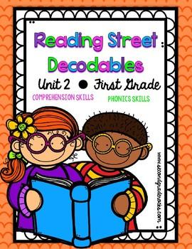 First Grade Reading Street Decodables Unit 2
