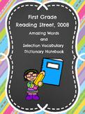 Reading Street Dictionary Notebook