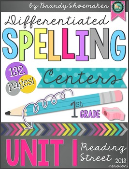 Reading Street Differentiated Spelling: First Grade Unit 1 Wks 1-6