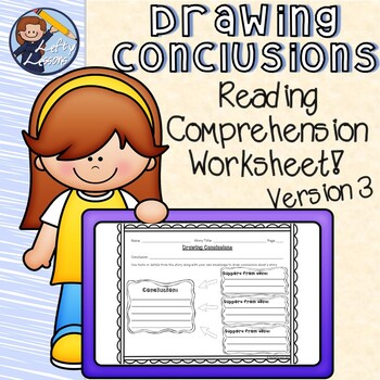Reading Street Drawing Conclusions Worksheet 3