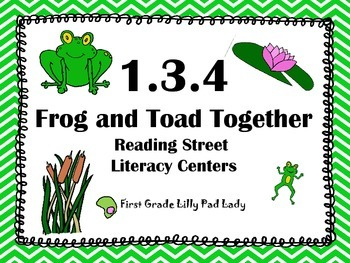 Reading Street Centers and Printables  (Frog and Toad)