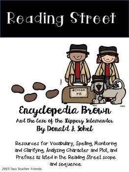 Reading Street Encyclopedia Brown