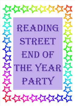 Reading Street End of the Year Party