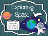Reading Street Exploring Space Unit 1 Week 2 Differentiated 2nd grade