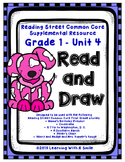Reading Street FIRST GRADE Read and Draw UNIT 4: Treasures~ Great Center!