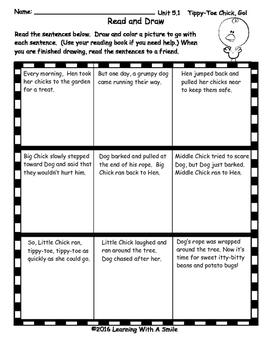 Reading Street FIRST GRADE Read & Draw UNIT 5 ~ No-Prep Literacy Center!