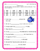 Reading Street FIRST GRADE Unit 2 Colorful Fill-Ins - Spel