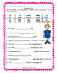 Reading Street FIRST GRADE Unit 3 Colorful Fill-Ins - Spel