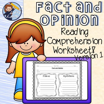 Fact And Opinion Reading Comprehension Worksheet By Rachel Erreich