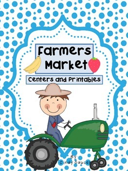 Reading Street, Farmers Market,  Centers and Printables For All Ability Levels