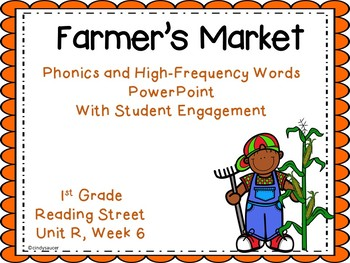 Interactive Powerpoint, Farmers Market, Reading Street Unit R