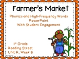 Farmers Market, PowerPoint with Student Engagement