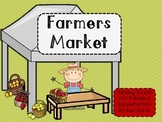 Reading Street Farmers Market Unit R Week 6 Differentiated Resources First grade