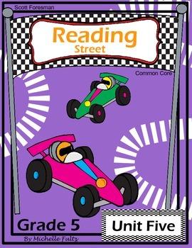 Reading Street Fifth Grade- Unit Five
