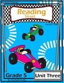 Reading Street- Fifth Grade- Unit Three