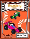 Reading Street- Fifth Grade- Unit Two