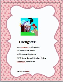 Reading Street Firefighter Second Grade Activities