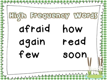 """Reading Street First Grade """"Frog and Toad Together"""" Additional Resources"""
