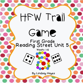 Reading Street First Grade High-Frequency Word Trail Game ...Unit 5