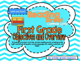 Reading Street First Grade Objectives and Overview (Scope