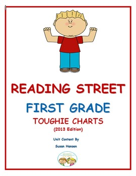 Reading Street First Grade Toughie Charts Review (2013)