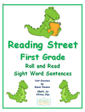 Reading Street First Grade Roll and Read Sight Word Practice