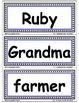Reading Street First Grade STORY WORDS: Word Walls/ Pocket