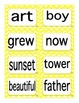 Reading Street First Grade Selection Words (Primary Colors