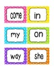 Reading Street First Grade Sight Word Cards UNIT 1