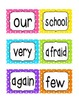 Reading Street First Grade Sight Word Cards UNIT 3