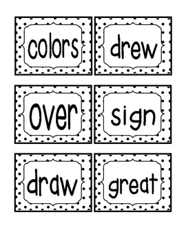 Reading Street First Grade Sight Word Cards UNIT 4