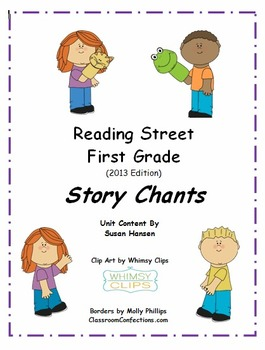 Reading Street First Grade Story Chants