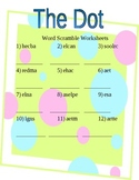 Reading Street First Grade: The Dot Spelling Packet